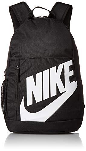 Nike Kinder Y NK ELMNTL BKPK-FA19 Sports Backpack, Black/Black/(White), MISC