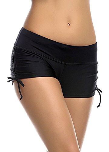 Damen Hot Pants Wassersport Bikinihose Fitness Yoga – verschiedene Farben - 2