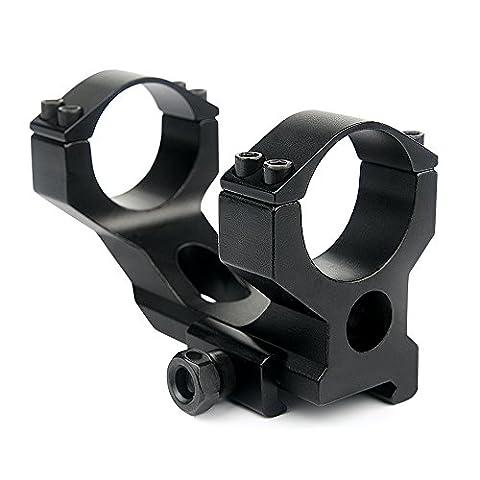 """Uniquefire High Profile 1 """"25,4mm & 30mm Anneau de montage double port et Anneau de queue d"""