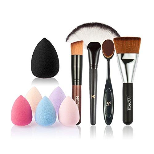 oulii-lot-de-5pcs-maquillage-outils-brush-set-avec-pinceau-blush-en-forme-dventail-fondation-brosse-