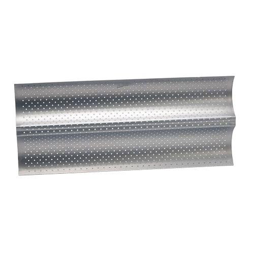 Pâtisse 03663 - Stampo da forno per 2 baguette, in acciaio laminato a freddo
