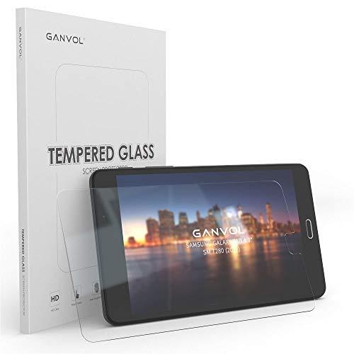 """vetro temperato tablet 7 pollici Ganvol Pellicola Protettiva in Vetro Temperato per Samsung Galaxy Tab A6 7.0"""" SM-T280 / Tab A 7.0 SM-T280N Wi-Fi Tablet 9H Ultraresistente + 1 Cable Tie - 1013806"""
