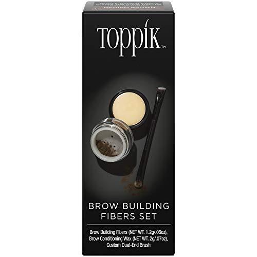 Toppik Set Infoltitore Sopracciglia (Colore Castano Medio) - 3.2 gr.