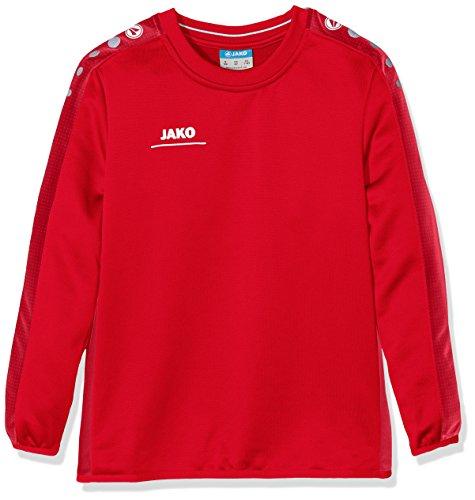 JAKO Kinder Sweatshirt Sweat Striker, rot, 164