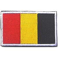 Bandera bandera bandera bandera bandera bandera bandera bandera de los países chic bandera mágica brazalete pegatinas parches (Bélgica)