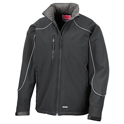Result Work-Guard Ice sensation à capuche veste softshell Noir