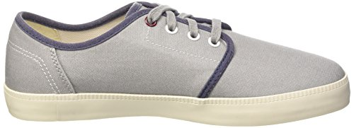 Timberland Newport Bay Canvas P  Men   s Boat Shoes  Grau  Grey Sleet   10 5 UK