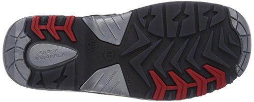 MTS - Sicherheitsschuhe M-Gecko Falcon S3 Flex ÜK 41175, Scarpe antinfortunistica , unisex Nero (Schwarz)
