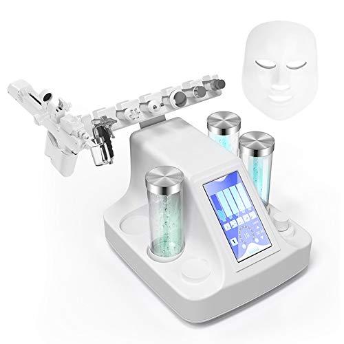 Diamant Dermabrasion Microdermabrasion Maschine Exfoliator Hautverjüngung Gerät, 8 in 1 Ultraschall Vakuum RF Hydro Sauerstoff Jet, der BIO Mikro Gegenwärtige Dermabrasions Maschine Anhebt(EU)