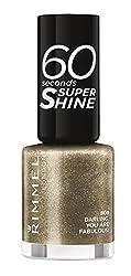 Darling : Rimmel 60 Seconds Super Shine Nail Polish - 8 ml, Darling