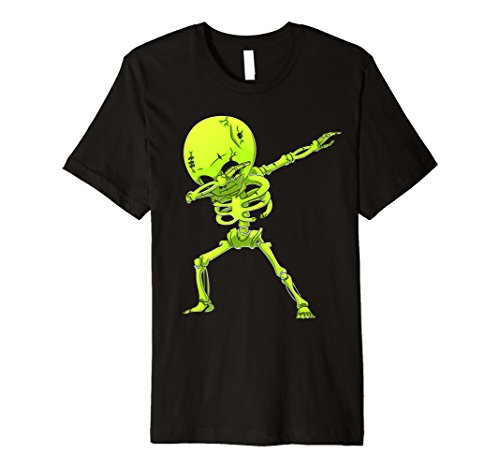 Dabbing Skelett T Shirt Kinder Halloween Zombie DAB Tees