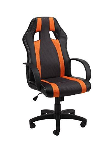 1home-computer-game-racing-chair-adjustable-swivel-pu-high-back-office-chair-ergonomic-orange