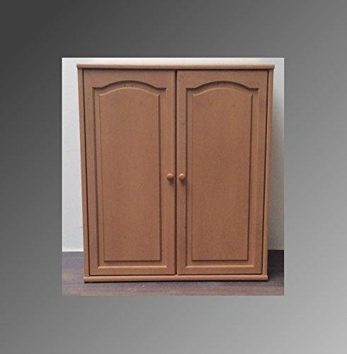 Kommode Regal Sideboard Wohnwand Erle Front Massiv Schublade Flurmöbel Wohnmöbel (Kommode 2 Türen M-1301)