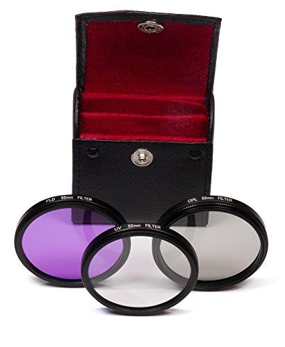 Belmalia 72mm UV + FLD + CPL Filter Set für z. B. Canon, Olympus, Nikon DSLR D7100 D7000 D5200 D5100 D5000 D3200 D3100 D3000 D90 D80 D60