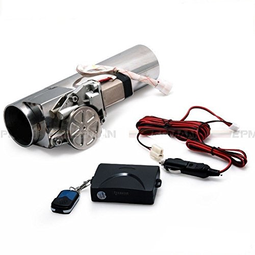 "Price comparison product image Wosonku 2.5"" Type Electric Exhaust Catback Downpipe E-Cutout Valve System Remote Kit"