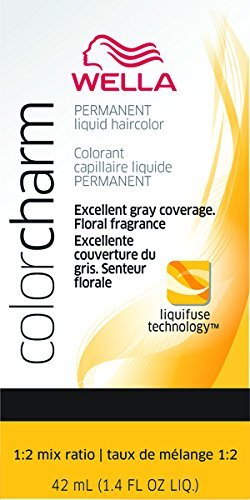 Wella Couleur Charm liquide Couleur de cheveux permanente – # 1070 Honey Beige Blonde 40 ml (lot de 2)