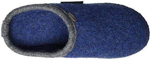Giesswein  P. Dannheim,  Pantofole unisex adulto blu (Blau (jeans 527))