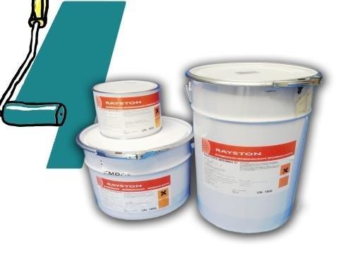 Impermax flüssige Teichfolie azurgrün (RAL 5018) 2,5kg -25 kg, Inhalt:2.5 kg (2.5% Flüssig)