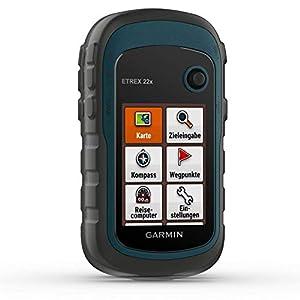 Garmin eTrex 22x – robustes, wasserdichtes GPS-Outdoor-Navi mit 2,2″ (5,6 cm) Farbdisplay mit Tastenbedienung, vorinstallierter TopoActive-Europakarte und 25 Std Akkulaufzeit