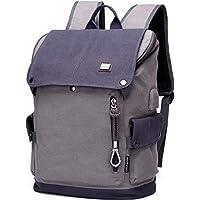 e7dc491dbacc6 Charmore Travel Laptop Rucksack Computertasche für Männer  Diebstahlsicherung Nylon Wasserdichte College Schultasche Business Rucksack  mit USB