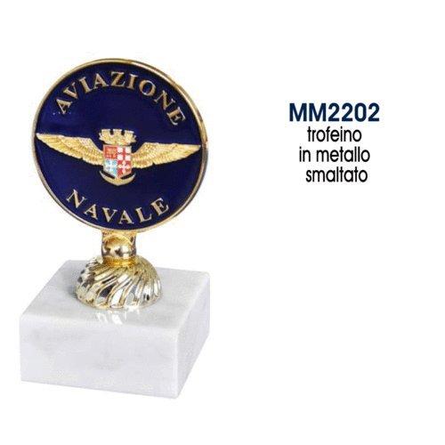 Giemme articoli promozionali - Trofeo Ricordo Stemma Aviazione Navale Marina Militare Prodotto Ufficiale