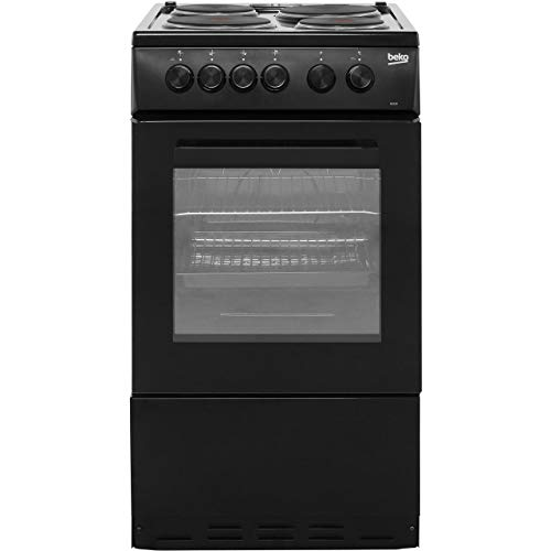 41hSl wBZUL. SS500  - Beko As530K Freestanding Electric a Rated Cooker -Black