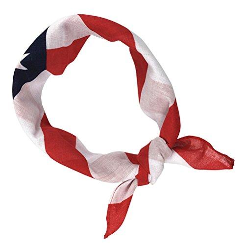 BESTOYARD Amerikanische Flagge Stirnbänder USA Flagge Bandana patriotischen Stirnband für Unabhängigkeitstag 4. Juli Nationalfeiertag
