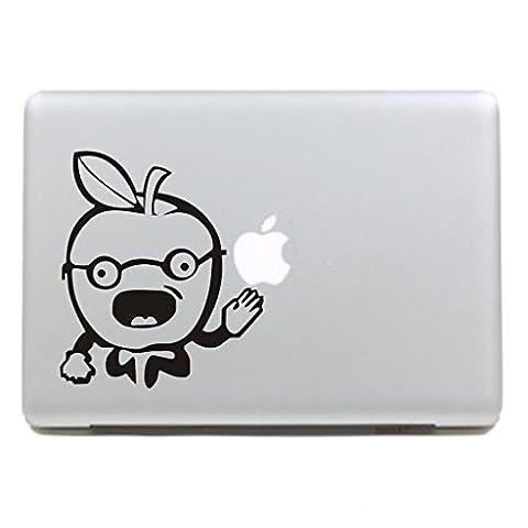 """MacBook Aufkleber, Chickwin Creative Pattern dekorativ Film Notebook Sticker Skin personalisierte Aufkleber MacBook Pro Air 13"""" Decal (Herr Apfel)"""