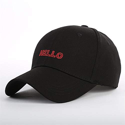 Buchstabe gestickte Kappe im Freien Gebogene beiläufige Hut-Sonnenschutz-Baseballmütze B3 -