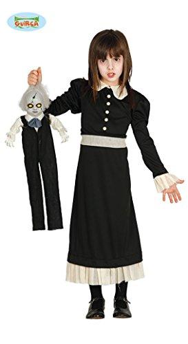 Gespenster Mädchen Halloween Geister Kostüm Halloweenkostüm Geist Gr. 110-146, (Spiegel Halloween Kostüm)