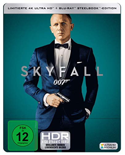 James Bond: SKYFALL  ( 4K UHD + Blu-ray ) Limited Edition