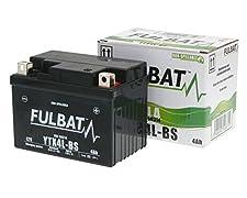 Batterie Typ: YTX4L-BSSpannung: 12VKapazität (10h): 3AhKälteprüfstrom (-18°C/ 0°F): 50AMaße (±2mm) HxBxT: 85x113x70mmAnschlusstyp: AGewicht ohne Säure: 1,23kgSäure (l / kg): 0,2l / 0,25kgGewicht mit Säure: 1,48kg Gefahrenpiktogramme: GHS05  Signalwor...