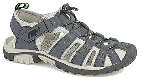 Walking Sandalen (PDQ Herren Walking Sandale Blue 12 UK / 46 EU)