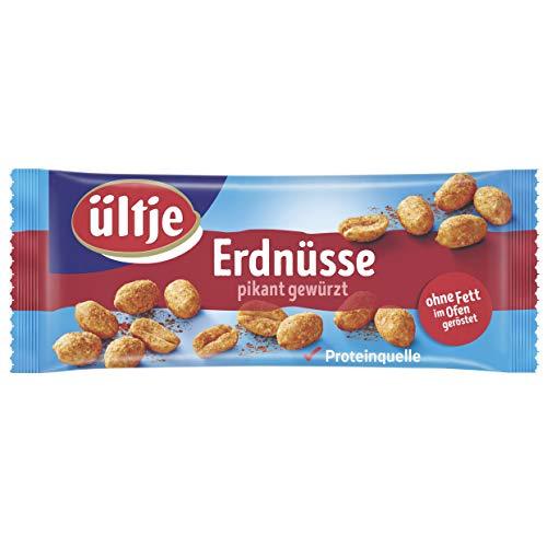 ültje Erdnüsse, pikant gewürzt, ohne Fett geröstet, 10er Pack (10 x 50 g)