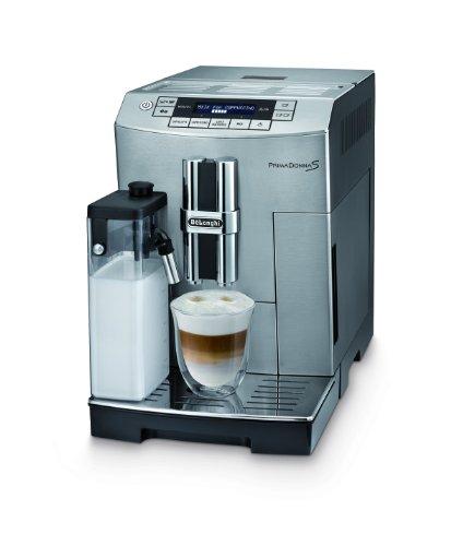 DeLonghi ECAM 26.455.MB Kaffee-Vollautomat PrimaDonna S (1.8 l, integriertes Milchsystem ,...