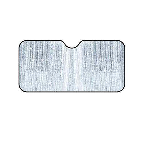 ZMXZMQ Auto Windschutzscheibe Sonnenschutz, Faltbare UV Ray Reflektor Auto Frontscheibe Sonnenschutz Visier Schild Abdeckung Hält Fahrzeug Kühl,130 * 60cm - Reflektor-schild