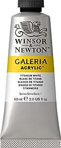 Galeria Tube Acrylic Colour, Titanium White, 60 ml