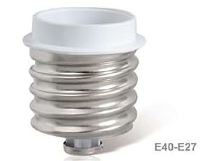 E40 to E27 Light Socket Adapter