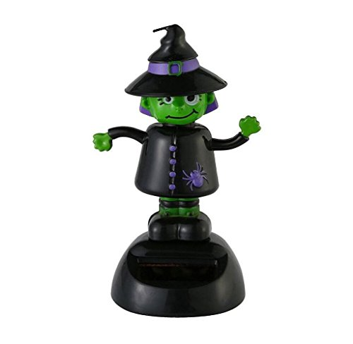 Amcool Halloween Solar Powered Dancing Swinging Toy Car Decor