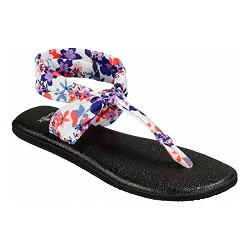 Sanuk Womens Yoga Sling Ella Flip Flop Liberty Waikiki Floral