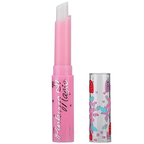 Lip Balm Strawberry Lasting Feuchtigkeitsspendende Farbänderung -