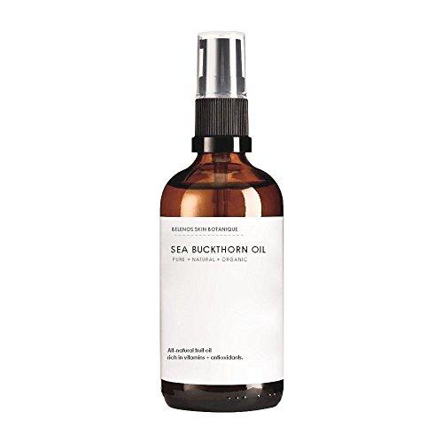 Puro mar Espino aceite 50ml prensado en frío de frutas. Un aceite orgánico Natural Idea para todos los tipos de...