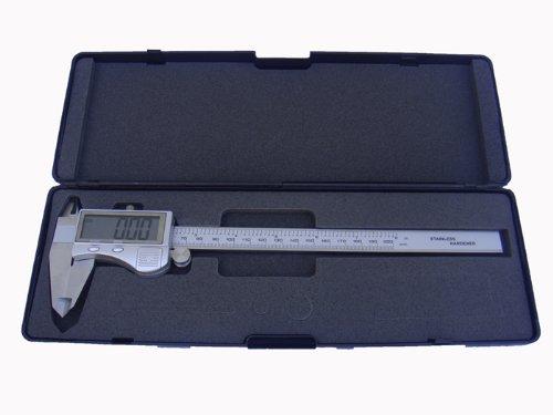 PAULIMOT Schieblehre/Messschieber digital 0-200 mm mit großem Display