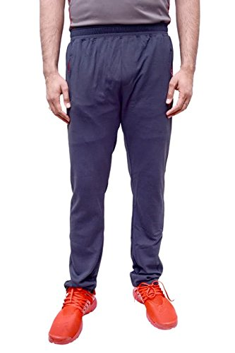 Neva Men's Sweat Free P-Knit Fabric Lower_Track Pant_Zipper Sports Lower_M80-85_Charcol  available at amazon for Rs.799