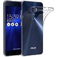 "Cover per ASUS ZenFone 3 5.2"" (ZE520KL), AICEK Cover ASUS ZenFone 3 Silicone Case Molle di TPU Trasparente Sottile Custodia per ASUS ZenFone 3"