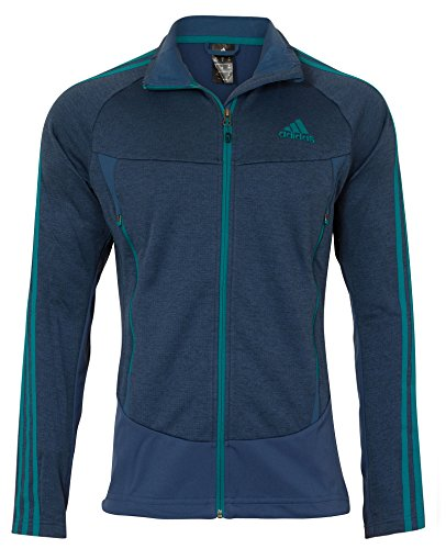 adidas Herren Ski/Golf/Fussball Fleece Jacke, Marineblau, Gr��e UK 38/40 | 04055008891323