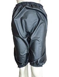 Pantalons en caoutchouc / culotte / culotte / culotte bouffante en caoutchouc noire (Latex / Silicone Mix) taille L/XL et XXL/XXXL