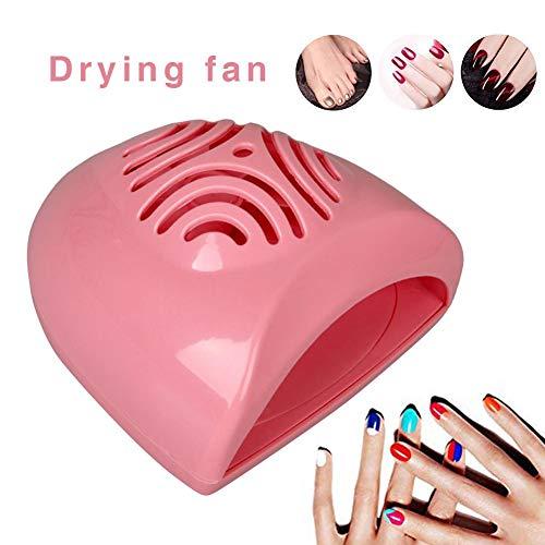 awhao Tragbarer Nageltrockner, mini süße Größe handlich, sicher für Kinder, batteriebetriebener normaler Nagellack sale2019 -