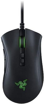 Razer DeathAdder V2 - Kabelgebundene Gaming-Maus mit klassenbester Ergonomie, Optischen Maus-Switches, Optischer Focus+ 20k
