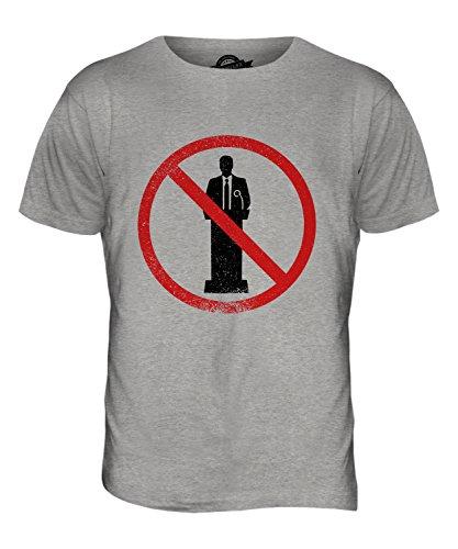 CandyMix Logophobie Herren T Shirt Grau Meliert
